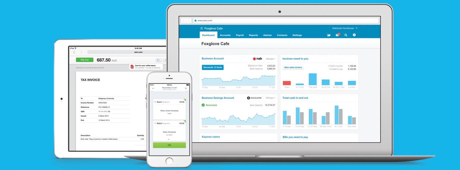 xero-apple-devices-stock-image